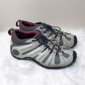 Merrell Chameleon Stretch Hiking Shoes Grey Womens